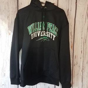 William Peace University Under Armour Hooded Sweatshirt